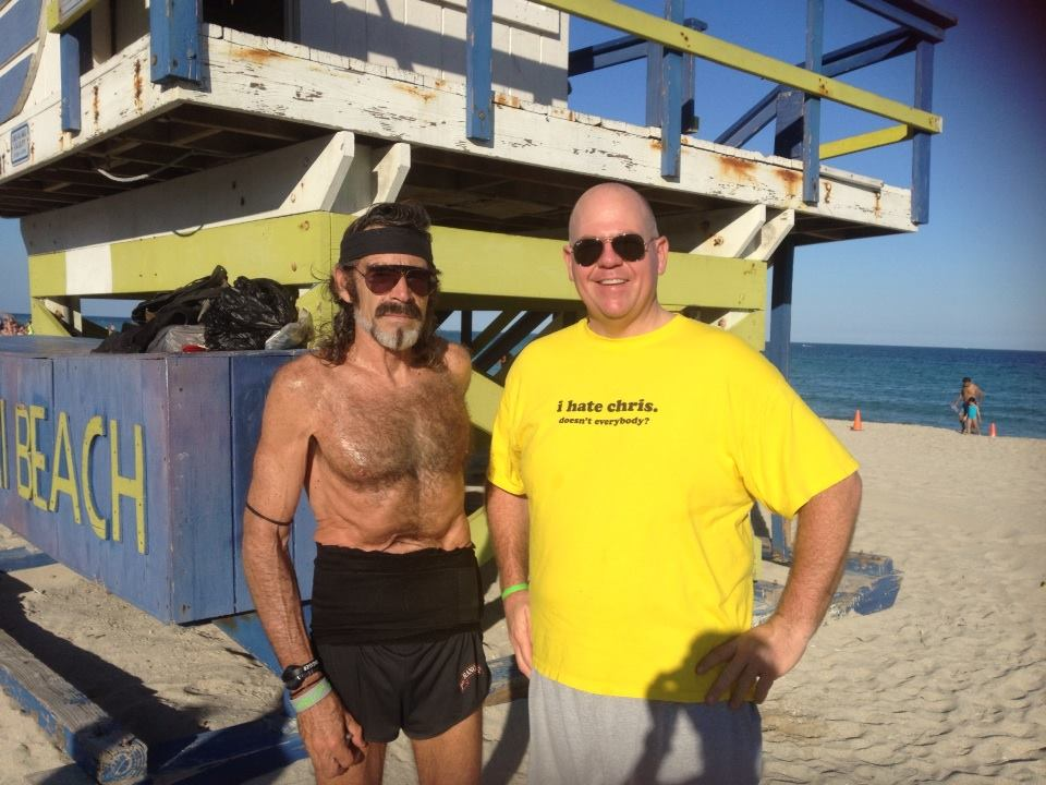The Raven. Miami Beach. 8-miles a day, every day, for 40-years. I ran 8 with him.